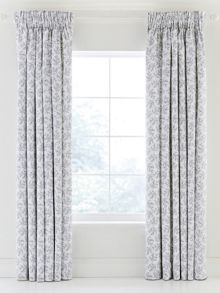 Lantilly lined curtains 90x90 sky blue