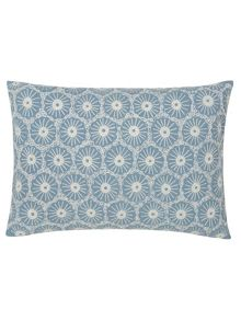 Olivia cushion 45x30cm blue
