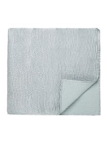 Riviera throw 170x220cm duck egg