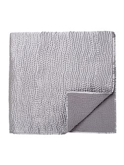 Riviera throw 170x220cm silver