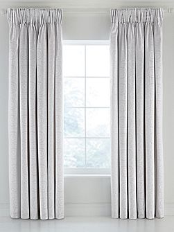 Beaumont lined curtains 66x72 silver