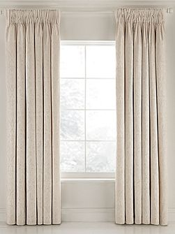 Fable Saverne lined curtains 66x72 soft gold