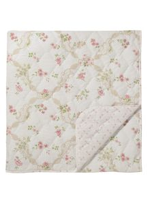 Anna maria throw 265x260cm pink