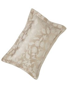 Bird blossom pillowcase oxford natural