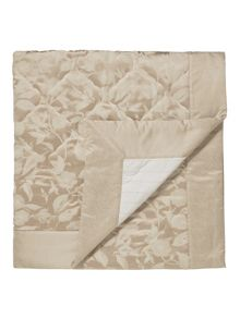 Bird blossom throw 265x260cm natural