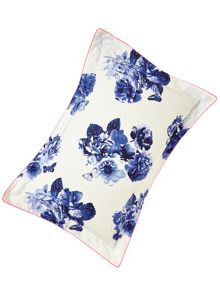 Butterfly floral oxford pillowcase