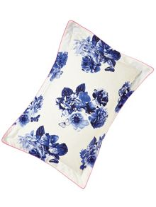Joules Butterfly floral oxford pillowcase