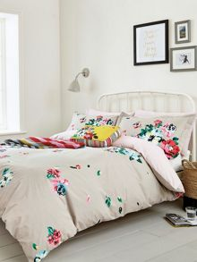 Joules Devito floral pillowcase housewife