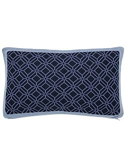 Willow tree cushion 50x30cm blue