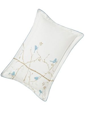 Sanderson Dawn chorus oxford pillowcase
