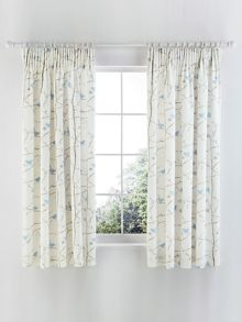 Dawn chorus curtains 66x72 in blue