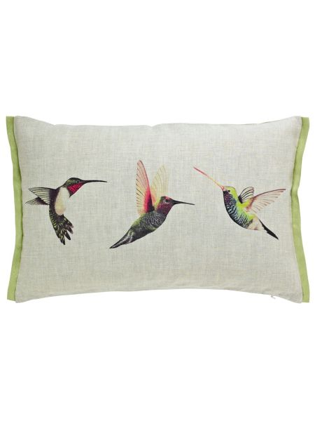 Harlequin Paradise Birds Cushion 50x30cm Multi House Of
