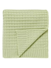 Helena Springfield Chatsworth blanket 130x150cm apple