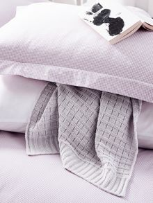 Chatsworth blanket 130x150cm lavender