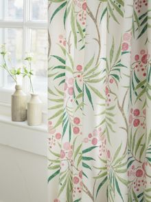 Arberella lined curtain 66x72 in rose