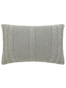 Simi cushion 50x30cm grey