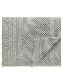 Sanderson Simi throw 150x200cm grey