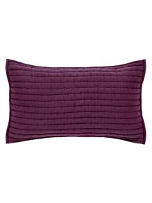 Sanderson Capuchins cushion 50x30cm berry