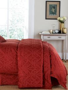 Moresque throw one size russet