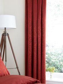 Moresque lined curtains 66x72 russet