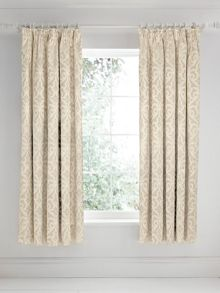Moresque lined curtain 66x72 linen
