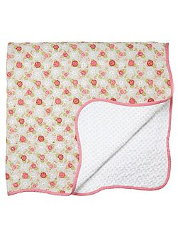 Rose cottage throw 230x265cm multi