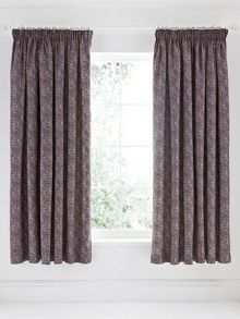 Sundara lined curtains 66x72 (168x183cm) navy