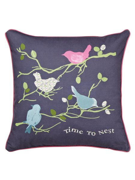 Julie Dodsworth Time to nest cushions 40x40cm multi