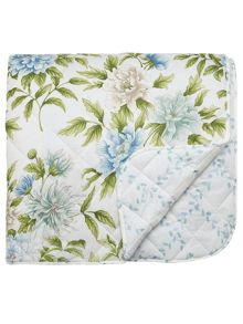 Sanderson Ella throw 265 x 260 cm aqua