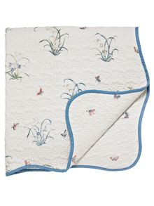 Butterfly garden throw 230x265cm