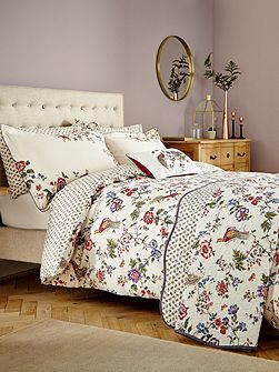 Birds of paradise duvet cover set