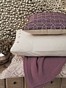 Atara cushion 40x40cm heather