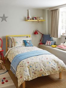 Sanderson Little Sanderson Dogs in Clogs duvet cover set