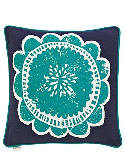 Taimi cushion 45x45cm navy