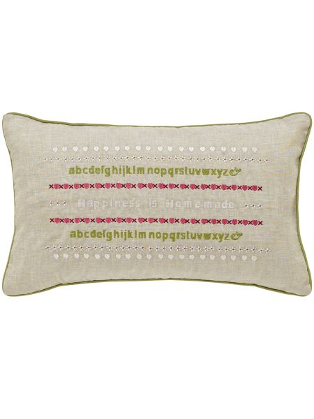 Julie Dodsworth Little maid cushion 30x50cm multi
