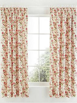 Little maid curtains 66x72in pink