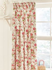 Julie Dodsworth Little maid curtains 66x72in pink
