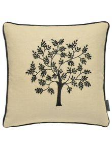 Morris & Co Morris seaweed 40X40cm cushion black
