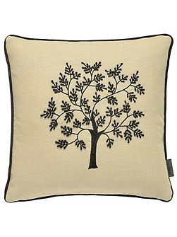 Morris seaweed 40X40cm cushion black