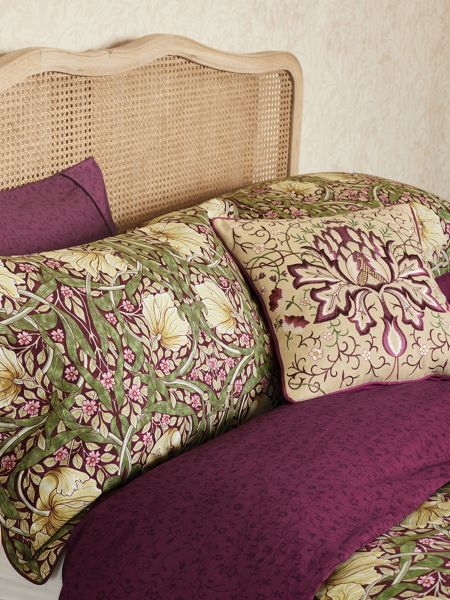 Morris & Co Pimpernel duvet cover single