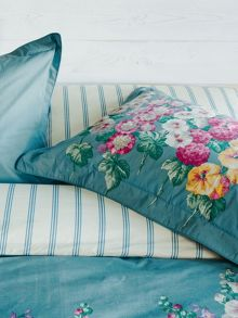 Sanderson Hollyhocks oxford pillowcase