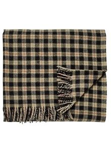 Morris & Co Jura blanket 140X185cm black