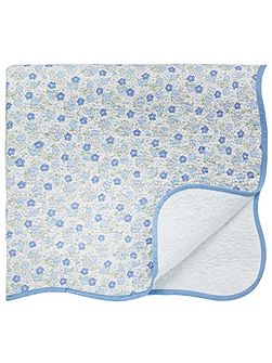 Molly throw 230x265cm blue