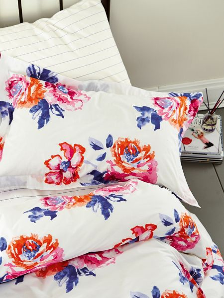 Joules Salcombe floral duvet cover