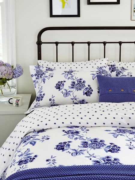 Joules Inky Chinoiserie duvet cover