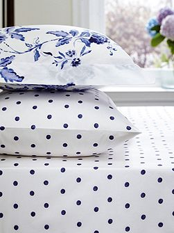 Inky Chinoiserie fitted sheet