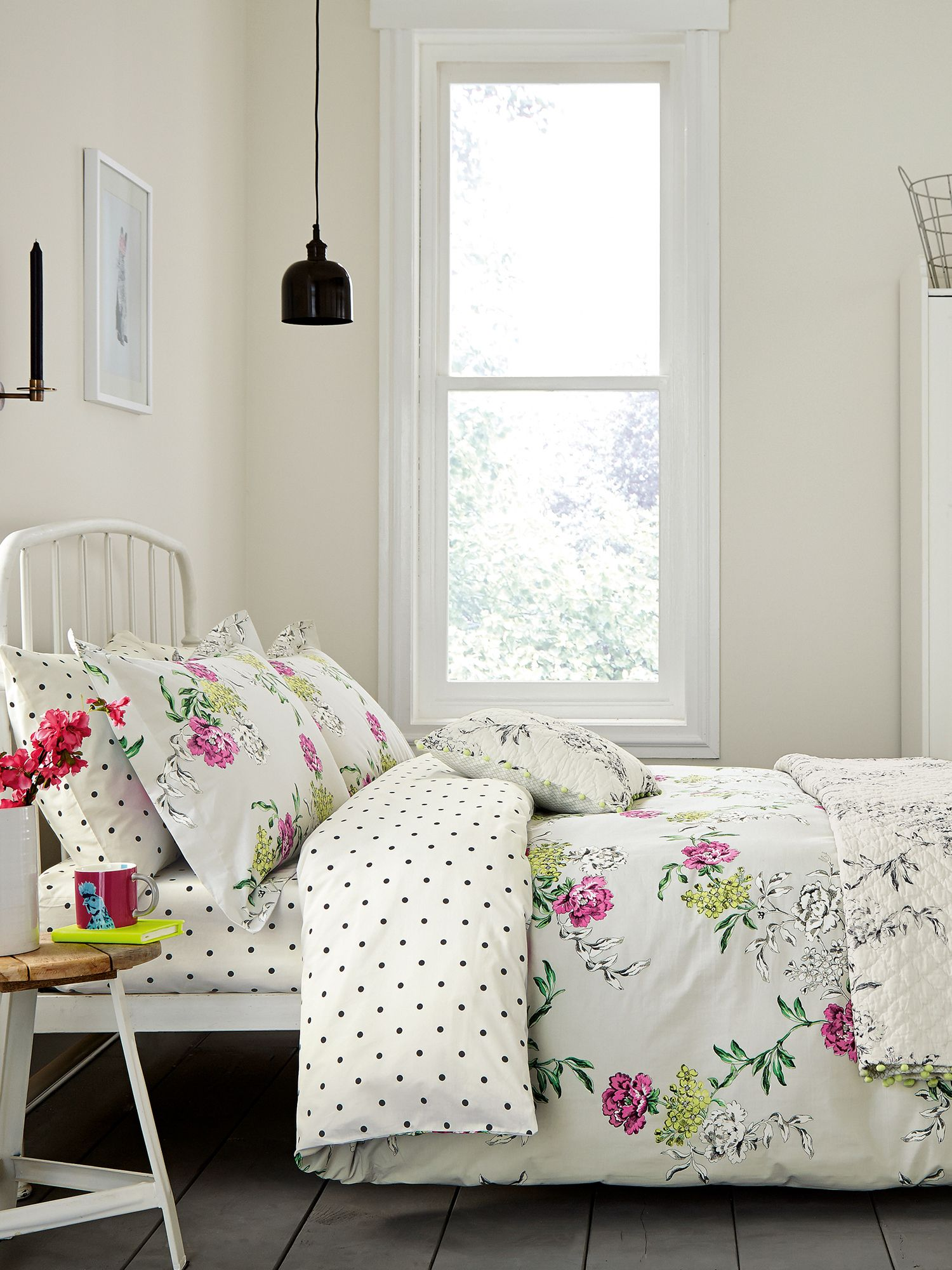 Image of Joules Buckingham floral duvet cover