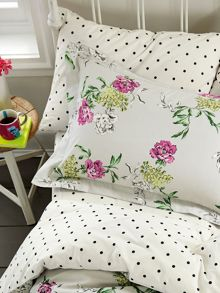 Joules Buckingham floral oxford pillowcase