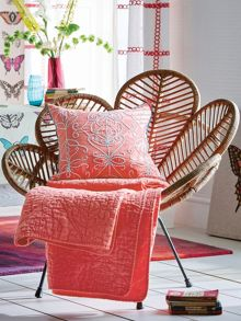 Harlequin Papilio 150x200cm throw flamingo