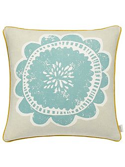 Anneke cushion 45x45cm honey